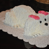 Puppy Cake This is my first puppy cake! It was not as hard as I thought. I would like to thank sue dye for instruction and inspiration. Also a big...