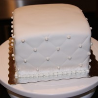Quilted Look Bridal Shower