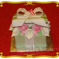 My 1St Box Cake   My 1st box cake....I learned a lot of things from this cake..lol