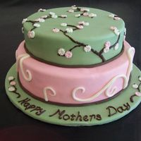 Mothers Day Cake Based on a design by Sweet Art Sydney. TFL :)