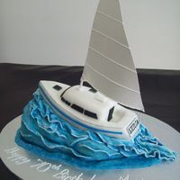 Sailing Boat Inspired by mamacc's boat cake :)