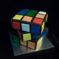 "Rubik's Cube Much bigger than it looks! 8""x8""x8"" :)"