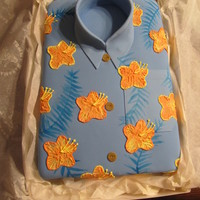 Tommy Bahama Party! A fun cake, based from a Tommy Bahama shirt for the father of a friend. Good for either Father's day or a birthday. I had a lot of fun...