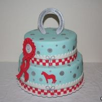 A Cake With Horse Accents