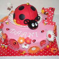 Ladybird For a little girl her first birthday !