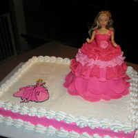 Princess Cake I made this cake for my boss at work.