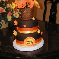 Day Of Sharing I made this cake for the day of sharing in Columbus for the table decoration. ICES Cake Club
