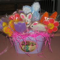 Easter Cookie Basket This is my first Cookie Easter Basket. I made it for my Granddaughter.