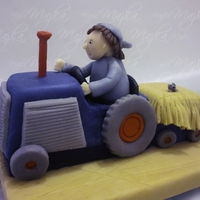 3D Tractor   Inspired by another Debbie Brown design, only slight modification made.