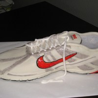 Nike Running Shoe Made for my dear friend and running partner who turned 72 years old today! Inspired by other running shoes on this site, especially CareyI...