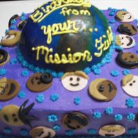 Pastor's Cake Made for my Pastor Husband whose birthday happened to be during a Mision's Conference at our church. The church celebrated his...