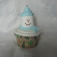 Snowman Cupcake I wanted a fast and easy cupcake to make for my first grader's Christmas party. I got this idea from somebody else here at CC (sorry,...