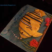 Cake For Fish/aquarium Enthusiast