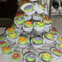 Gab's Cupcakes My step-daughter decorated these for her birthday.