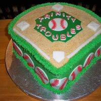 Softball Team Party Cake