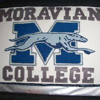 Moravian College Logo Moravian College logo cake made for a Welcome Freshmen party thrown by our alumni association for NJ students going to Moravian in the fall...