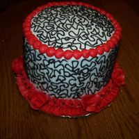 Leftovers This is what I call a doodle cake. I had leftovers and didn't want to waste them and so I made this little 6 inch round and just...