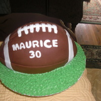 Birthday Cake For Football Fan
