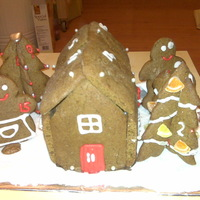 "Advent Gingerbread House Advent ""calender"""