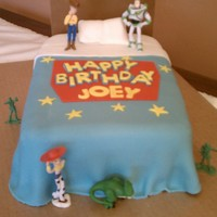 Toy Story Birthday Cake For my son's 2nd birthday. Thanks to all the Cake Central members for the ideas!