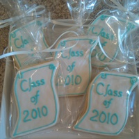 Diploma Cookies NFSC with fondant and RI