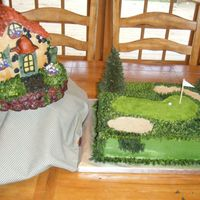 Dad's 70Th Since the cottage was only made of RKT, I had to make a cake also, and my Dad is a die-hard golfer. He's Scottish, and I'd...