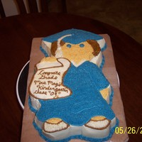 Lilly's Graduation Cake