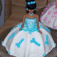 My Nices Birthday Cake This is a replica of my nieces sweet sixteen dress