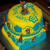 My Nephew's Birthday Cake Scooby Doo