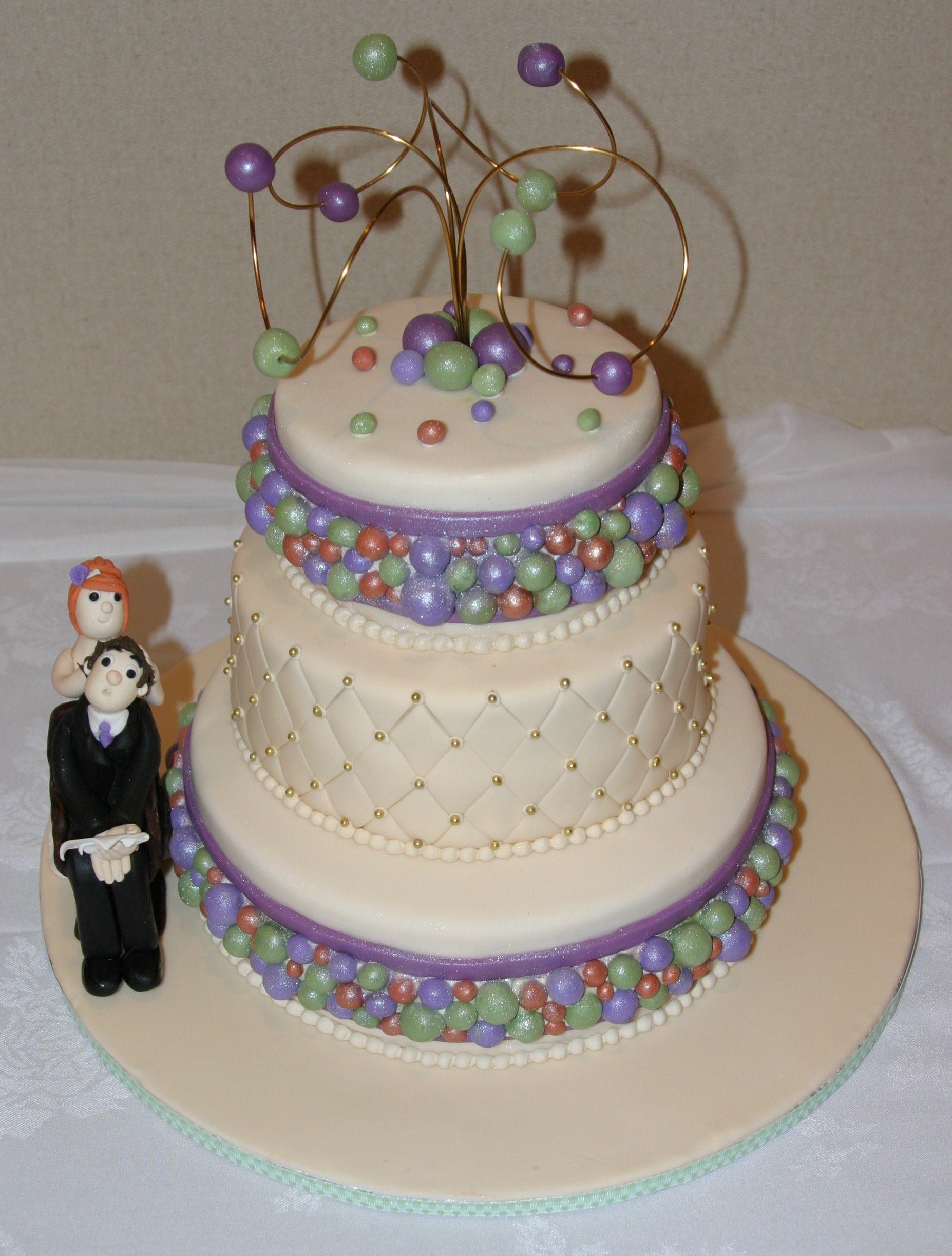 Beaded Beauty Cake