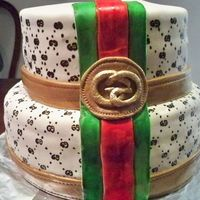 Gucci Cake My cousin said she wanted a Gucci cake.