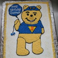 Super Slueth Pooh Cake was all BC, hand drawn pooh.