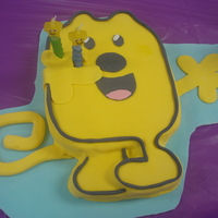 Wow Wow Wubzie   Fondant cover with fondant decorations