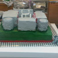 Bryant-Denny Stadium I don't know where to start! I made this for my boyfriend's birthday last week. I worked on it for days and days! I've made...