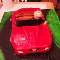 My Boss And His 1996 Mustang Cobra This was my entry for the Carolina Cake show. I wish we could do face pictures so you could see the likeness of my gumpaste and my actual...
