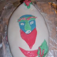 Kon Tiki Surf Board Very first time using fondant. i had just finished watching Ace of Cakes and was curious to what fondant is so i went to walmart around...