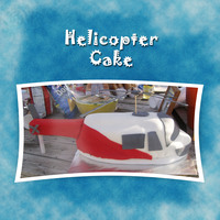 Helicopter Cake This cake I had to do very quickly and honestly I have to say it did look a little better in person. The picture doesn't show a lot of...