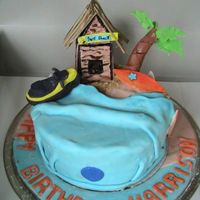 Surf Shack Saw a cake like this on a photostream. Made it for a little boys birthday. He and his friend had a beach party. Turned out o.k. Would have...