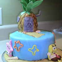 A Sponge Bob Birthday Had a request for Sponge Bob cake.. got ideas from various sites. Fun making..