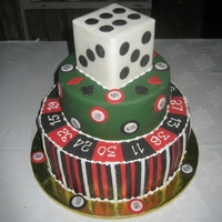 A Remake Of My Vegas Birthday Cake This time made a proportion dice :P