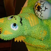 Baby Dragon I cant take full credit for the idea. I found the idea on this site from JennyU. Here is the link to the original. http://www.cakecentral....