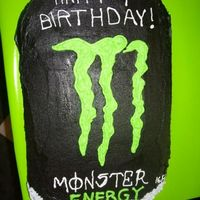 Monster Energy Cake Monster Energy Drink