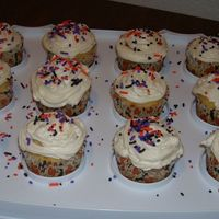 Cupcake With Halloween Sprinkles Cupcakes
