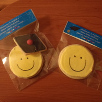 Happy Face Graduation Cookies GRADUATION COOKIES!!