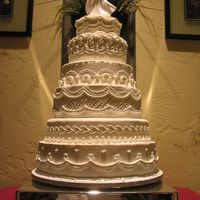 Martha Stewart Inspired Each tier design is different; victorian style cake