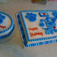 Blues Clues Buttercream Blues Clues