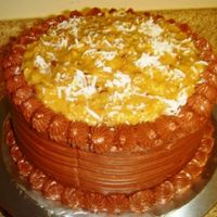 My First German Chocolate Cake
