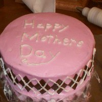 Argyle Mothers Day Cake