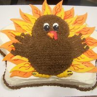 Turkey Cake FEATHERED FRIEND FROM WILTON