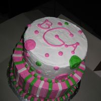 Teenage Tiered Cake